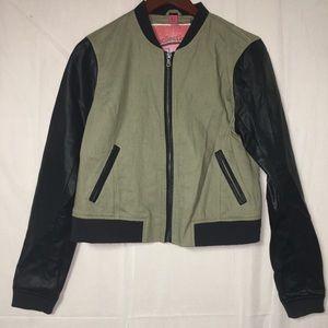 Bernardo Collection L cotton / linen ext jacket